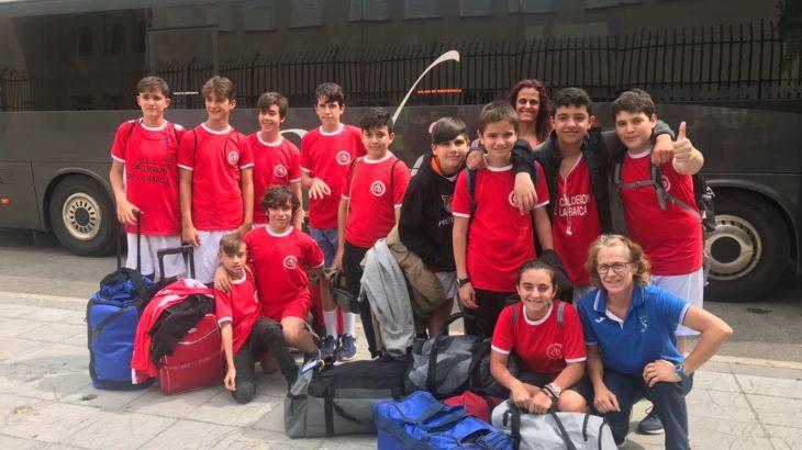 Nuestro equipo Subcampeón de Madrid Infantil de Baloncesto